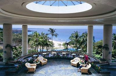 Hapuna Beach Prince Hotel lobby